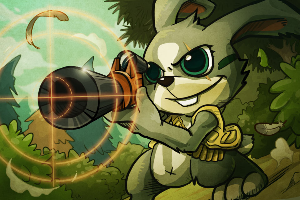 特攻兔子:Agent Rabbit【丛林射击】