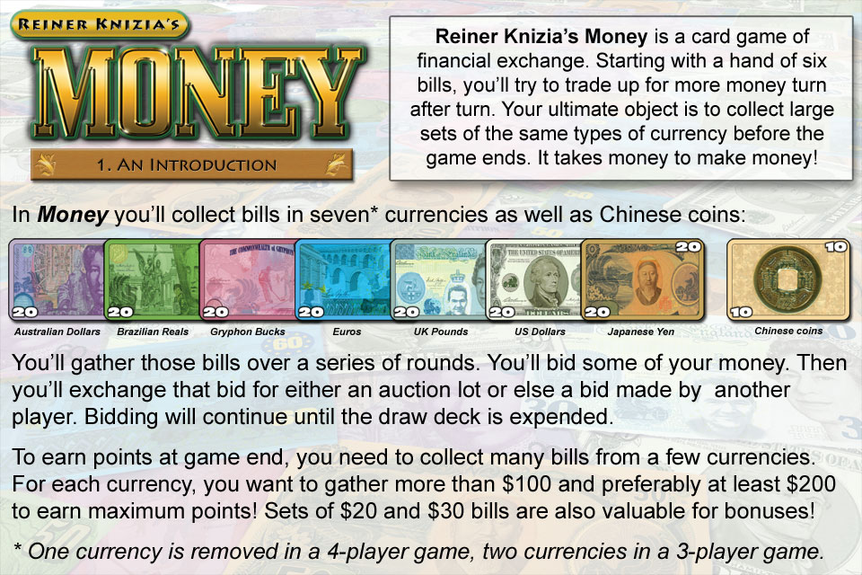 Screenshot Reiner Knizia's Money