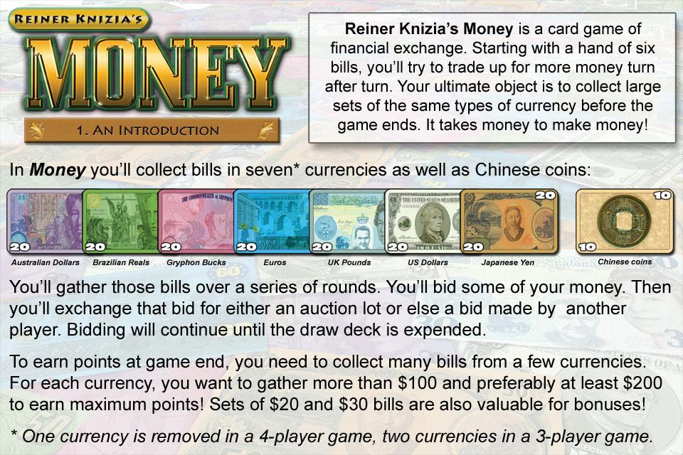 Screenshot Reiner Knizia's Money